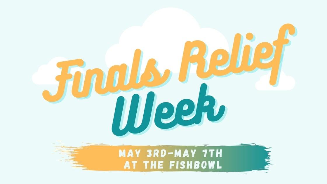 5.3 Finals Relief Week